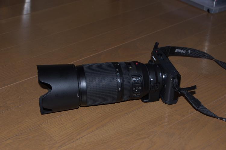 70-300mmを装着♪