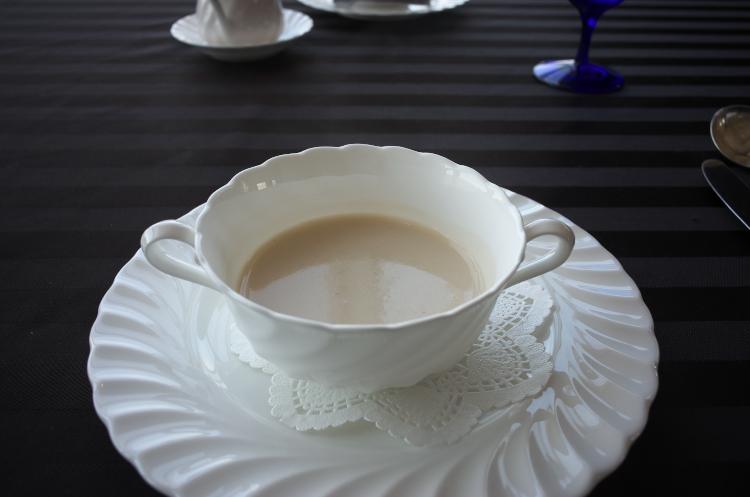 本日のクリームスープ♪