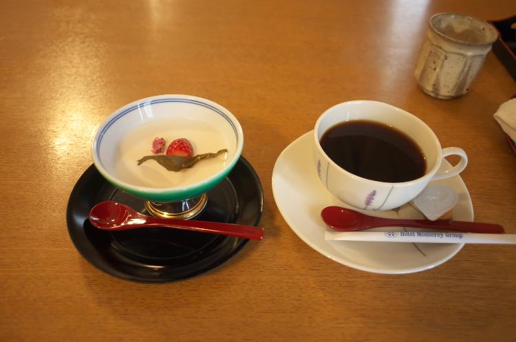 コーヒー&デザート♪